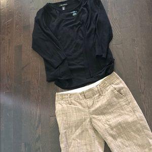 shorts/tank/White House black market sweater